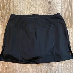 Lucy Sport Yoga Running Tennis Skirt Ruffle shorts